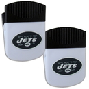 Siskiyou Buckle New York Jets Chip Clip Magnet with Bottle Opener, 2 pack, 2FPMC100