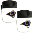 Siskiyou Buckle Los Angeles Rams Chip Clip Magnet with Bottle Opener, 2 pack, 2FPMC130