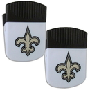 Siskiyou Buckle New Orleans Saints Chip Clip Magnet with Bottle Opener, 2 pack, 2FPMC150