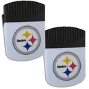 Siskiyou Buckle Pittsburgh Steelers Chip Clip Magnet with Bottle Opener, 2 pack, 2FPMC160