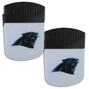 Siskiyou Buckle Carolina Panthers Chip Clip Magnet with Bottle Opener, 2 pack, 2FPMC170