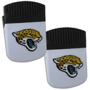 Siskiyou Buckle Jacksonville Jaguars Chip Clip Magnet with Bottle Opener, 2 pack, 2FPMC175
