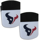 Siskiyou Buckle Houston Texans Chip Clip Magnet with Bottle Opener, 2 pack, 2FPMC190