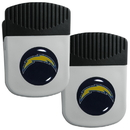 Siskiyou Buckle Los Angeles Chargers Clip Magnet with Bottle Opener, 2 pack, 2FRMC040