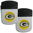 Siskiyou Buckle Green Bay Packers Clip Magnet with Bottle Opener, 2 pack, 2FRMC115