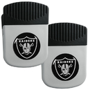 Siskiyou Buckle Oakland Raiders Clip Magnet with Bottle Opener, 2 pack, 2FRMC125