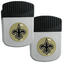 Siskiyou Buckle New Orleans Saints Clip Magnet with Bottle Opener, 2 pack, 2FRMC150