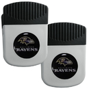 Siskiyou Buckle Baltimore Ravens Clip Magnet with Bottle Opener, 2 pack, 2FRMC180