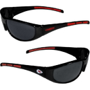 Siskiyou Buckle 2FSG045 Kansas City Chiefs Wrap Sunglasses