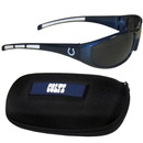 Siskiyou Buckle 2FSG050CH Indianapolis Colts Wrap Sunglass and Case Set