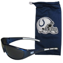 Siskiyou Buckle 2FSG050EB Indianapolis Colts Sunglass and Bag Set