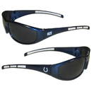 Siskiyou Buckle 2FSG050 Indianapolis Colts Wrap Sunglasses