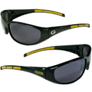 Siskiyou Buckle 2FSG115 Green Bay Packers Wrap Sunglasses