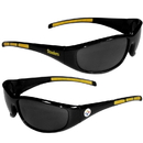Siskiyou Buckle 2FSG160 Pittsburgh Steelers Wrap Sunglasses