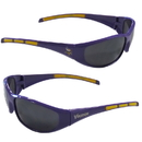 Siskiyou Buckle 2FSG165 Minnesota Vikings Wrap Sunglasses