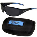 Siskiyou Buckle 2FSG185CH Tennessee Titans Wrap Sunglass and Case Set