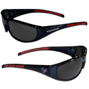 Siskiyou Buckle 2FSG190 Houston Texans Wrap Sunglasses
