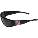 Siskiyou Buckle New Jersey Devils Chrome Wrap Sunglasses, 2HCP50