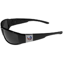 Siskiyou Buckle New York Islanders Chrome Wrap Sunglasses, 2HCP70