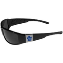Siskiyou Buckle Toronto Maple Leafs Chrome Wrap Sunglasses, 2HCP85