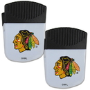 Siskiyou Buckle Chicago Blackhawks Chip Clip Magnet with Bottle Opener, 2 pack, 2HPMC10