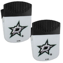 Siskiyou Buckle Dallas Stars Chip Clip Magnet with Bottle Opener, 2 pack, 2HPMC125
