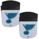 Siskiyou Buckle St. Louis Blues Chip Clip Magnet with Bottle Opener, 2 pack, 2HPMC15