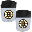 Siskiyou Buckle Boston Bruins Chip Clip Magnet with Bottle Opener, 2 pack, 2HPMC20