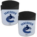 Siskiyou Buckle Vancouver Canucks Chip Clip Magnet with Bottle Opener, 2 pack, 2HPMC35