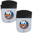 Siskiyou Buckle New York Islanders Chip Clip Magnet with Bottle Opener, 2 pack, 2HPMC70