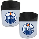 Siskiyou Buckle Edmonton Oilers Chip Clip Magnet with Bottle Opener, 2 pack, 2HPMC90