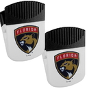 Siskiyou Buckle Florida Panthers Chip Clip Magnet with Bottle Opener, 2 pack, 2HPMC95