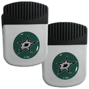 Siskiyou Buckle Dallas Stars Clip Magnet with Bottle Opener, 2 pack, 2HRMC125