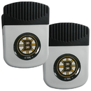 Siskiyou Buckle Boston Bruins Clip Magnet with Bottle Opener, 2 pack, 2HRMC20