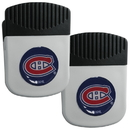 Siskiyou Buckle Montreal Canadiens Clip Magnet with Bottle Opener, 2 pack, 2HRMC30