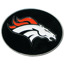 Siskiyou Buckle 2SFB020 Denver Broncos Logo Belt Buckle