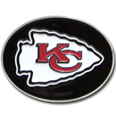 Siskiyou Buckle 2SFB045 Kansas City Chiefs Logo Belt Buckle