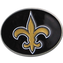 Siskiyou Buckle 2SFB150 New Orleans Saints Logo Belt Buckle