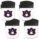 Siskiyou Buckle Auburn Tigers Chip Clip Magnet with Bottle Opener, 4 pack, 4CPMC42