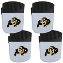 Siskiyou Buckle Colorado Buffaloes Chip Clip Magnet with Bottle Opener, 4 pack, 4CPMC57