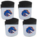 Siskiyou Buckle Boise St. Broncos Chip Clip Magnet with Bottle Opener, 4 pack, 4CPMC73