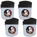 Siskiyou Buckle Florida St. Seminoles Chip Clip Magnet with Bottle Opener, 4 pack, 4CPMC7