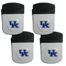 Siskiyou Buckle Kentucky Wildcats Clip Magnet with Bottle Opener, 4 pack, 4CRMC35