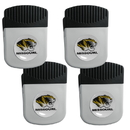 Siskiyou Buckle Missouri Tigers Clip Magnet with Bottle Opener, 4 pack, 4CRMC67