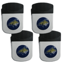 Siskiyou Buckle Montana St. Bobcats Clip Magnet with Bottle Opener, 4 pack, 4CRMC74