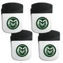 Siskiyou Buckle Colorado St. Rams Clip Magnet with Bottle Opener, 4 pack, 4CRMC76