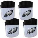 Siskiyou Buckle Philadelphia Eagles Chip Clip Magnet with Bottle Opener, 4 pack, 4FPMC065