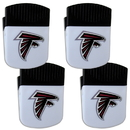 Siskiyou Buckle Atlanta Falcons Chip Clip Magnet with Bottle Opener, 4 pack, 4FPMC070
