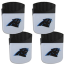Siskiyou Buckle Carolina Panthers Chip Clip Magnet with Bottle Opener, 4 pack, 4FPMC170