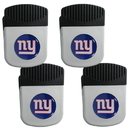 Siskiyou Buckle New York Giants Clip Magnet with Bottle Opener, 4 pack, 4FRMC090